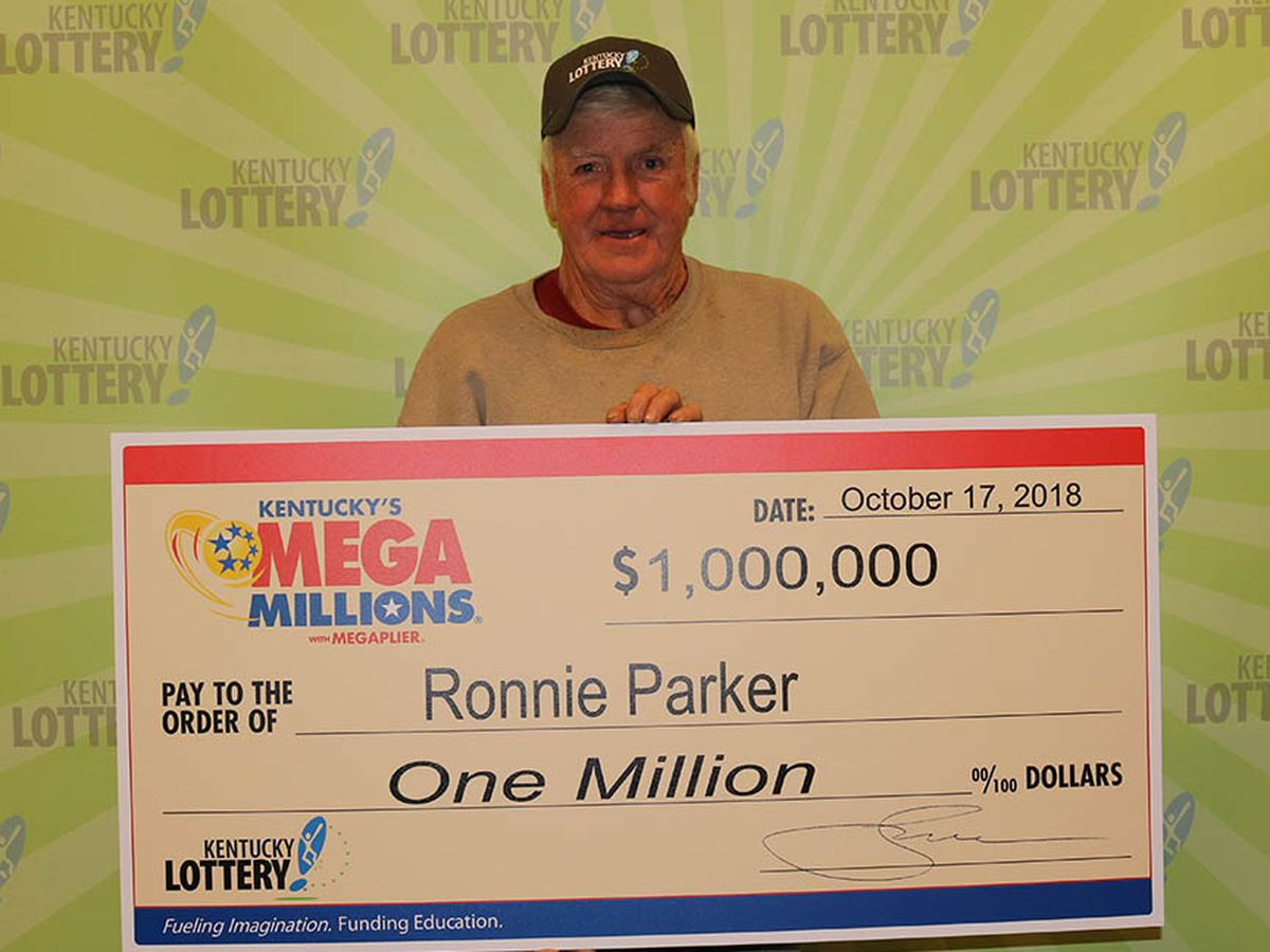 "Dawson Springs man ""tickled to death"" over winning $1-million Mega Millions prize"
