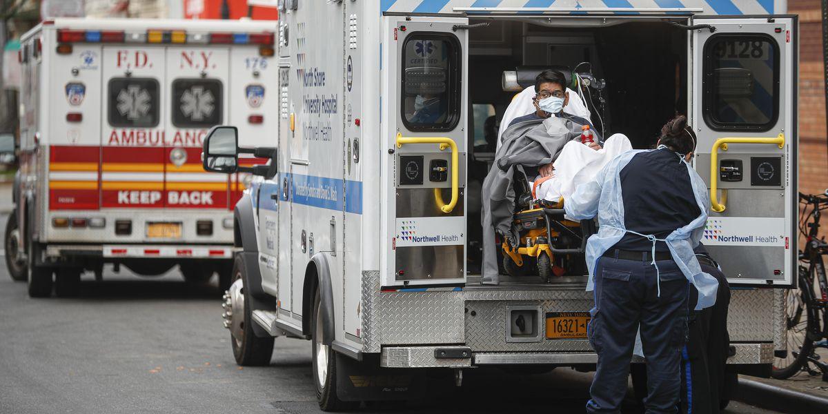 New York's coronavirus toll tops 9/11, while Wuhan ends lockdown