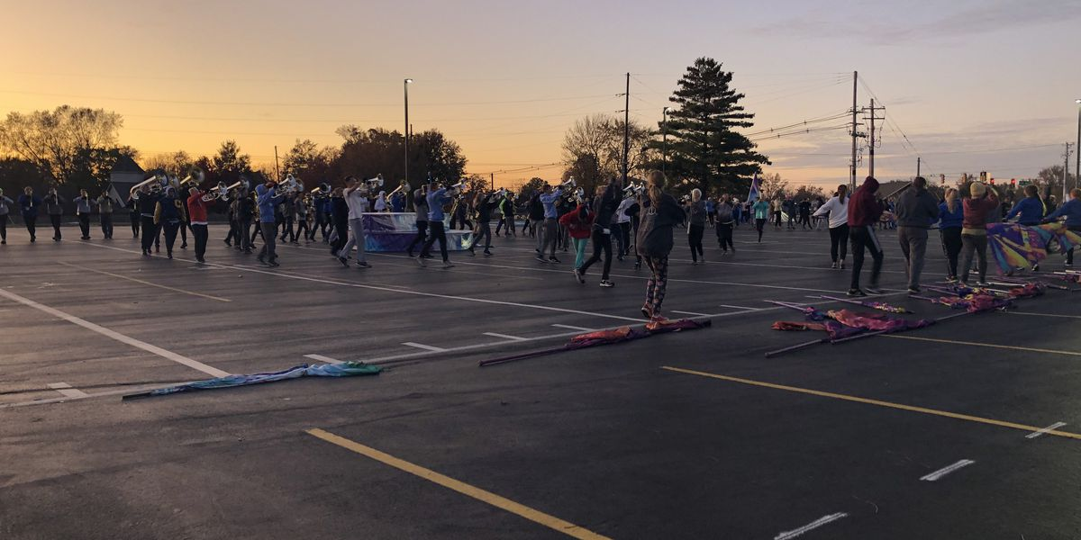 Castle, among a dozen Tri-State marching bands, heads to state Saturday