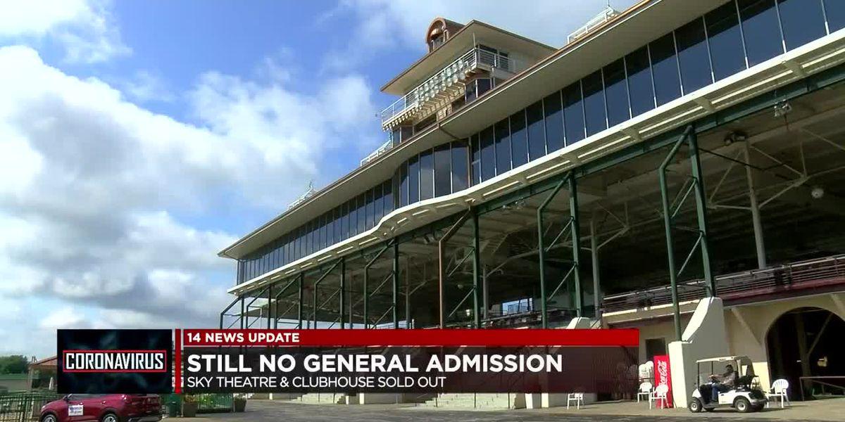 Still no general admission for Ellis Park RunHappy Derby