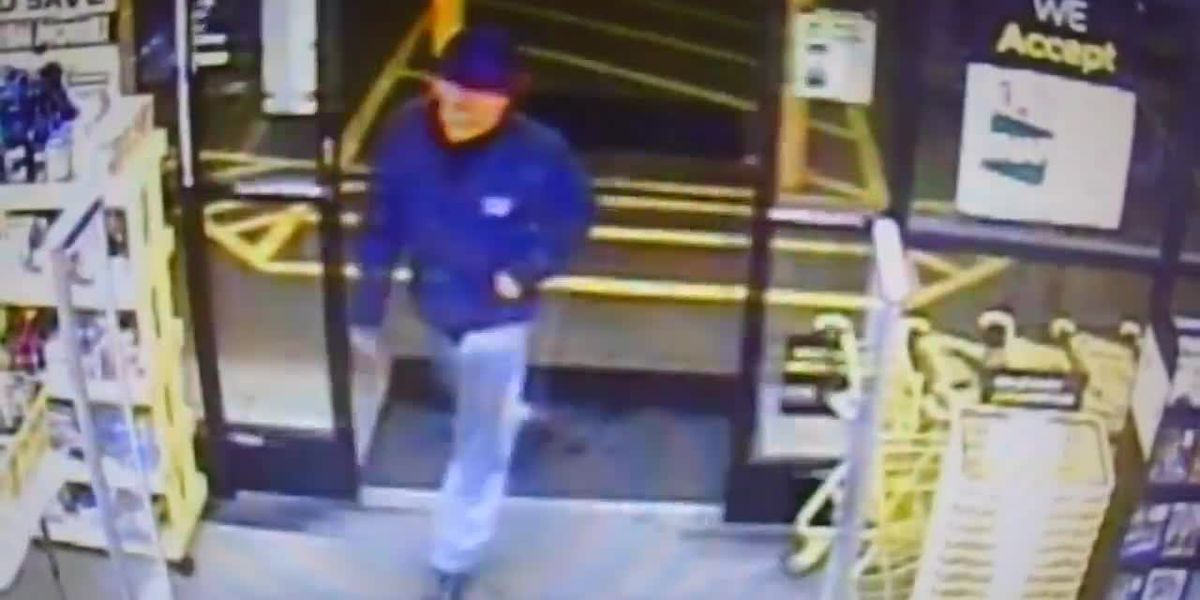 Video of Dollar General armed robbery suspect released; Police: 1 person stabbed