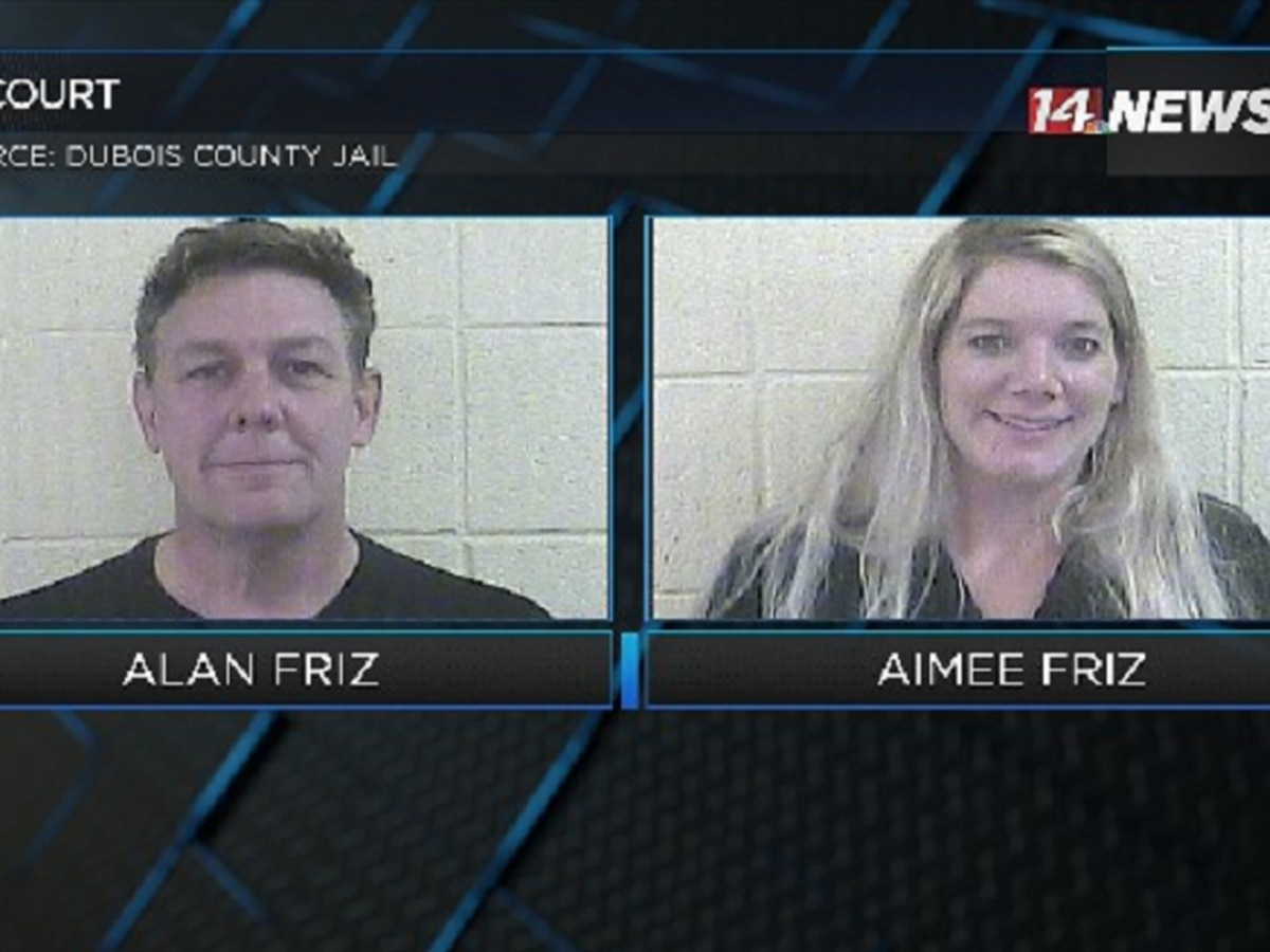 Dubois Co. couple accused of locking daughter in cage reach plea agreement
