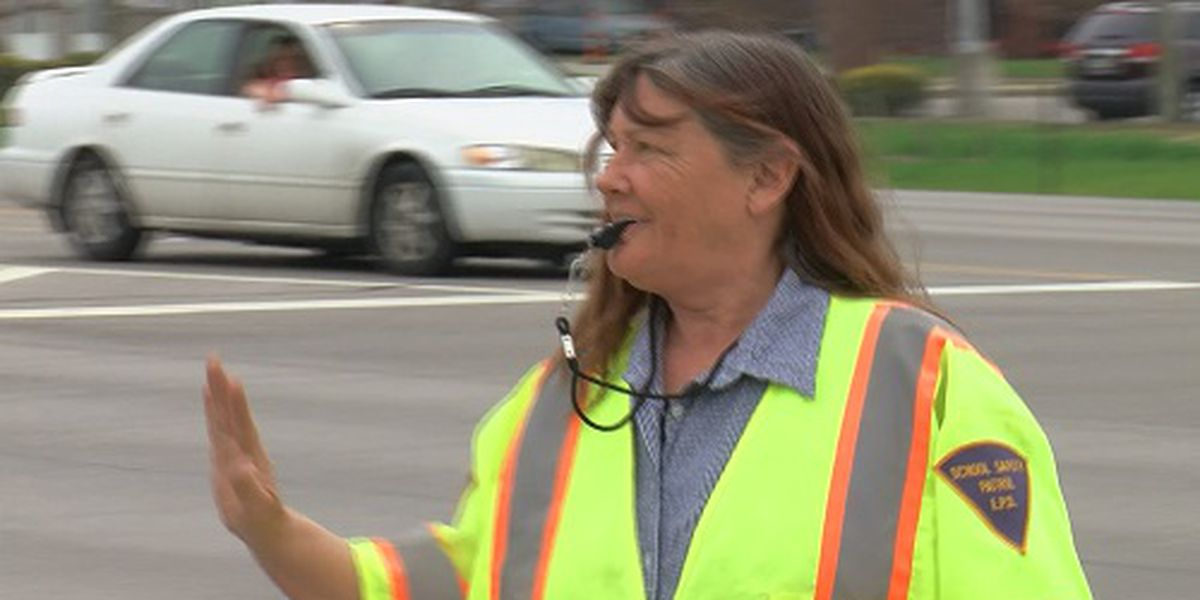 New crossing guards provide more safety for students at busy intersection
