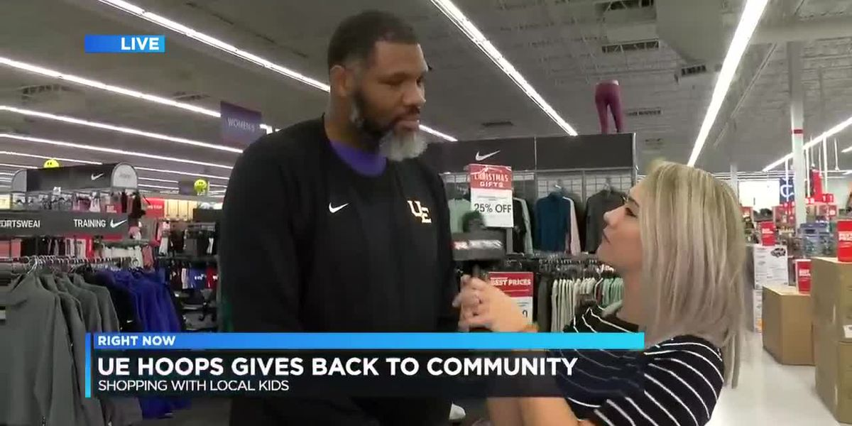 UE Basketball gives back to community