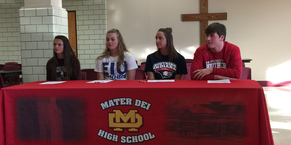 4 Wildcats bound for college athletics after signing NLI