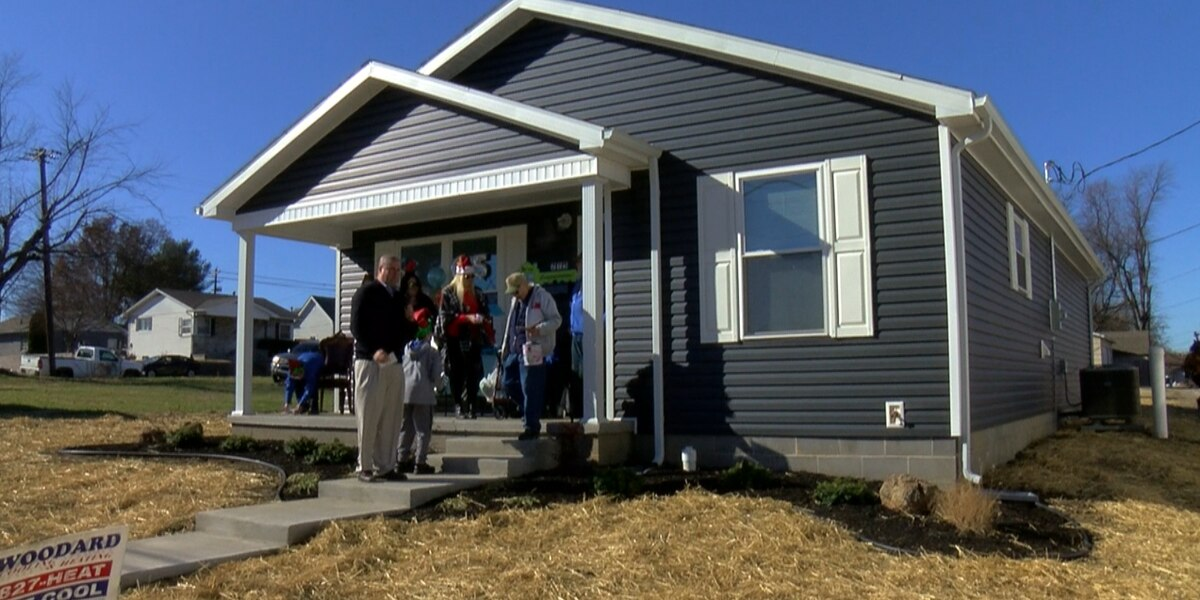 Henderson family has new home thanks to Habitat for Humanity