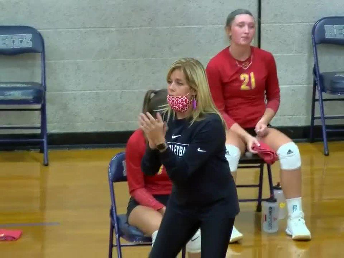 HS volleyball: Mater Dei vs. Reitz
