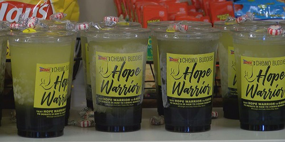 Chemo Buddies, Sonic Drive-In create drink for cancer patients