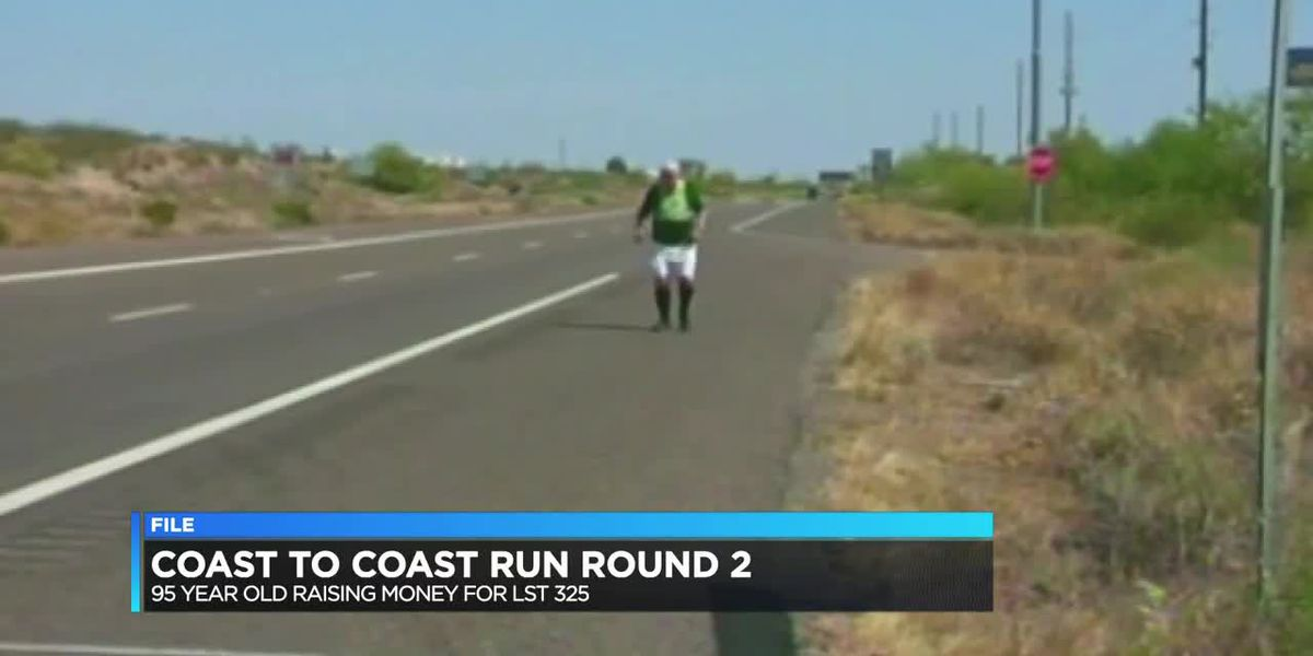 95 yr old WWII vet raising money, awareness for LST 325 with cross country trip