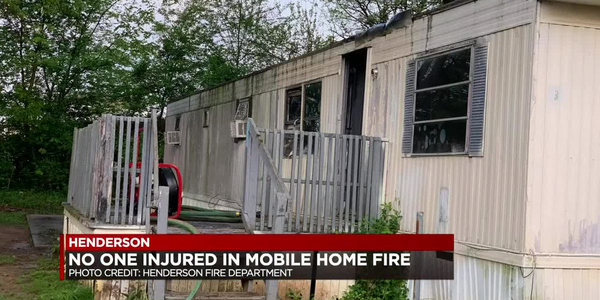 Crews called to early Wed. fire at Henderson mobile home park