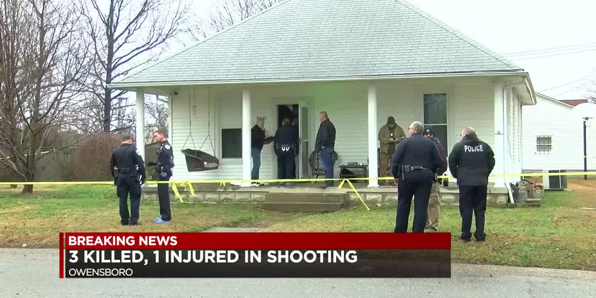 Team Coverage: 3 dead after shooting in Owensboro