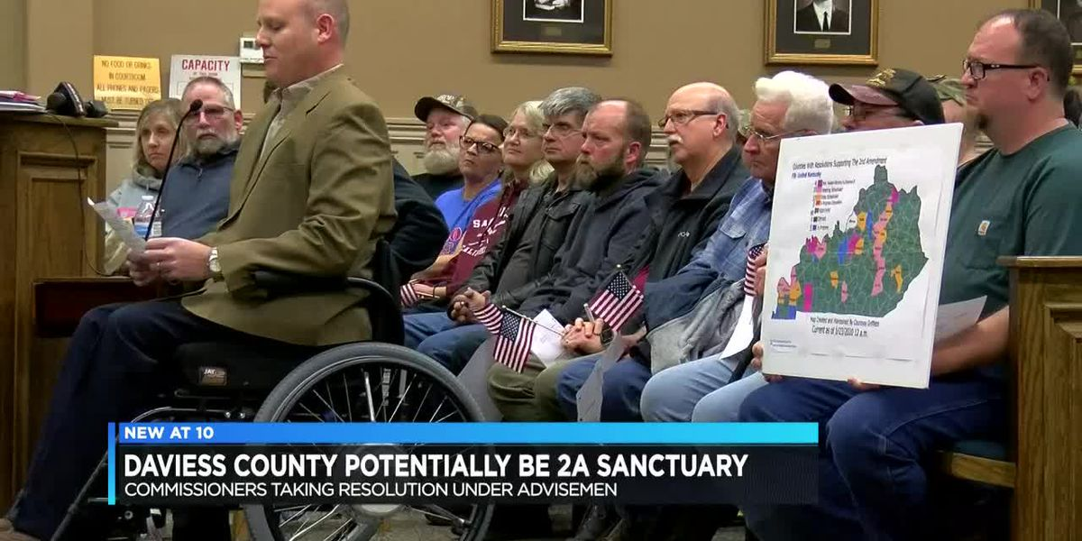 Packed house for Daviess Co. Second Amendment Sanctuary meeting