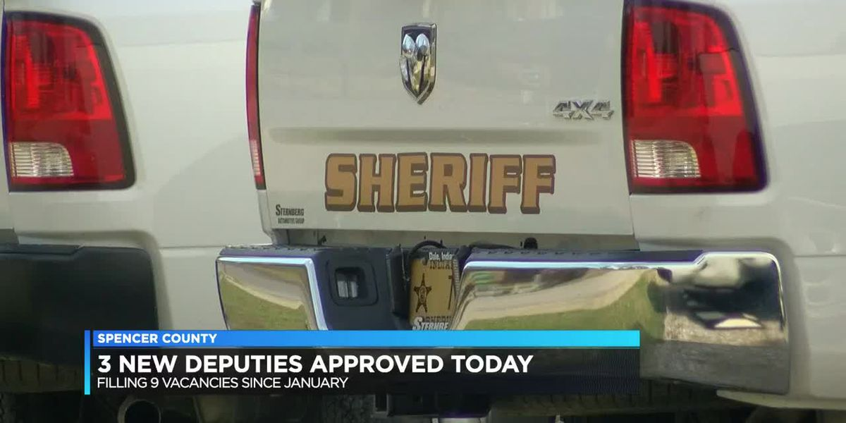 Spencer Co. Sheriff working to fill nearly a dozen openings