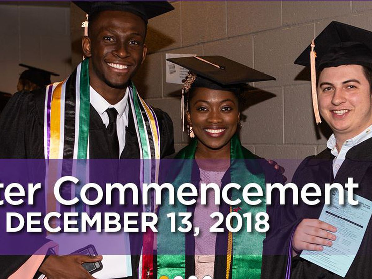 WATCH LIVE: UE 2018 Winter Commencement to start at 3 p.m.