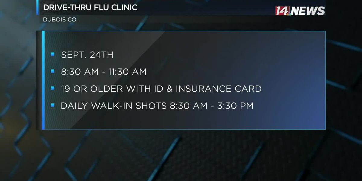 Flu shot clinics to be held in Dubois Co.