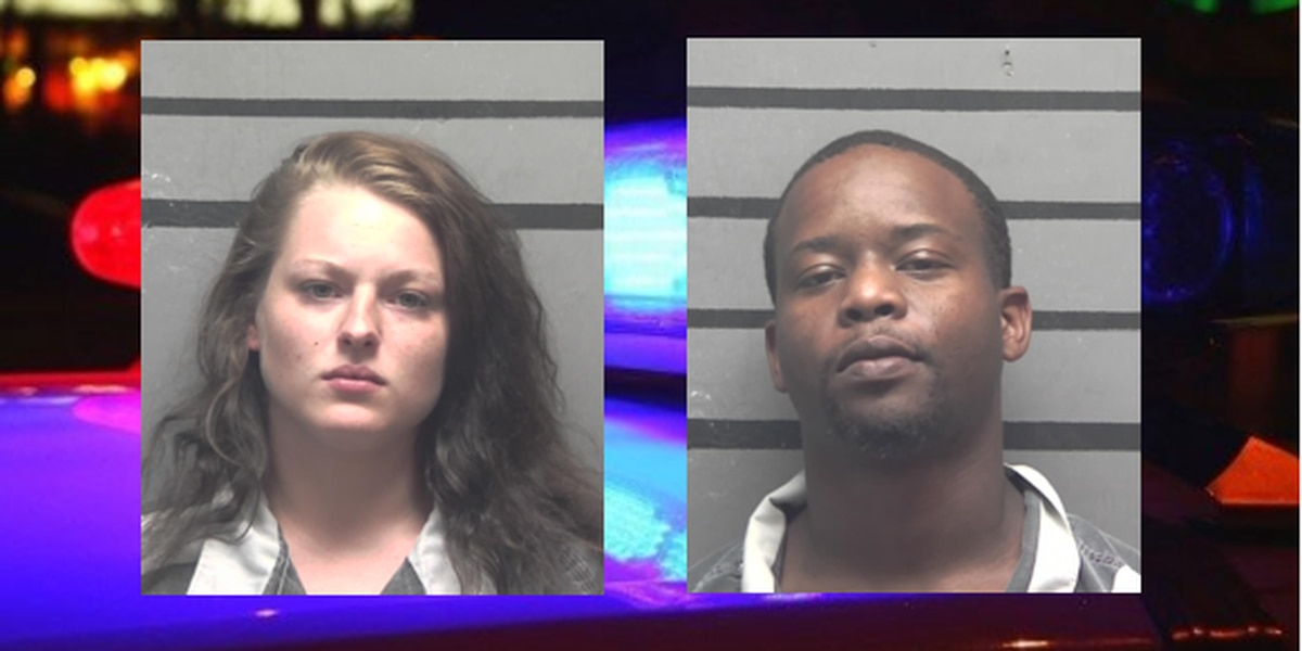 2 arrested on drug trafficking charges after traffic stop