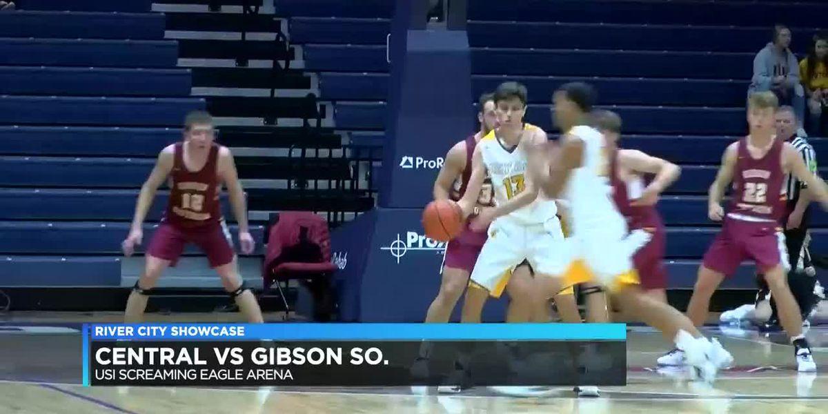 River City Showcase: Central vs Gibson Southern boys basketball highlights