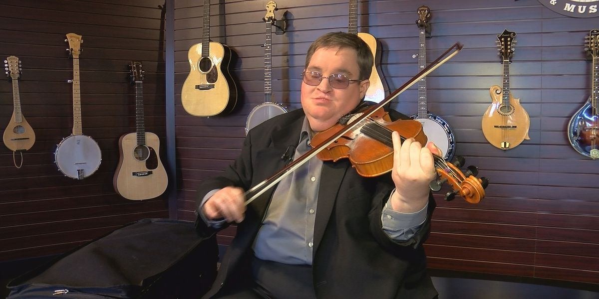 World-renowned fiddler shares story