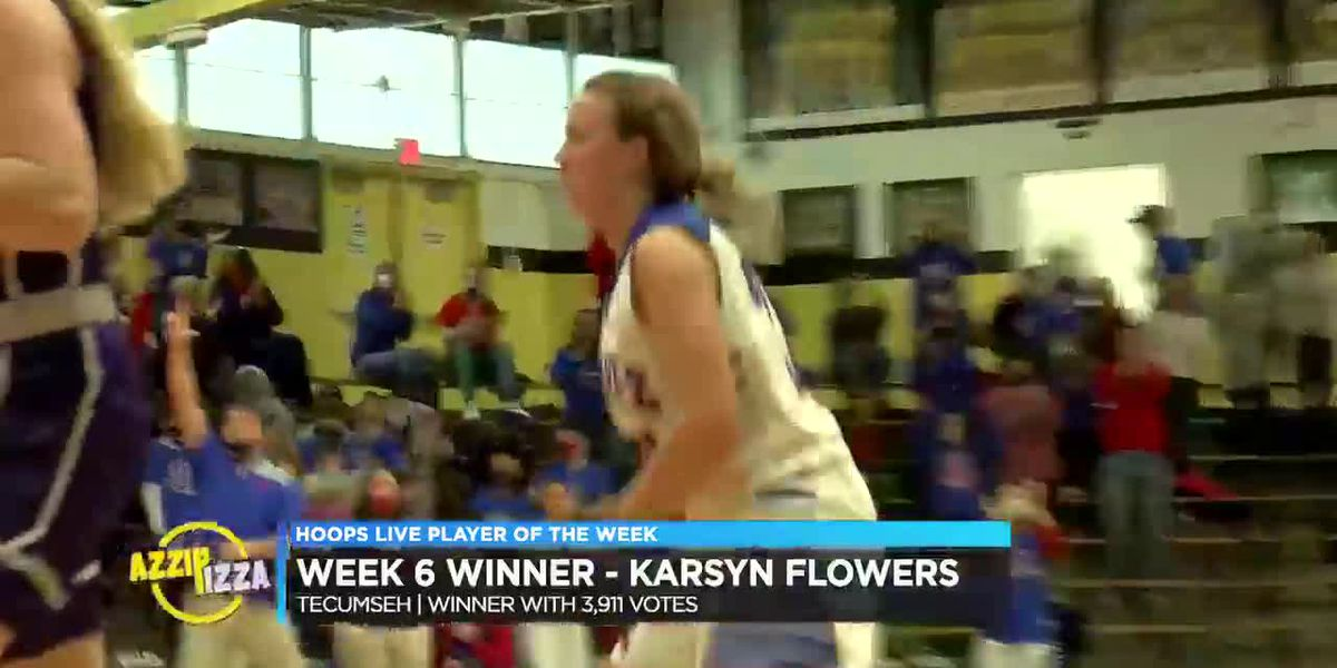 Tecumseh's Flowers stands out in 1A Regional, earns POTW crown