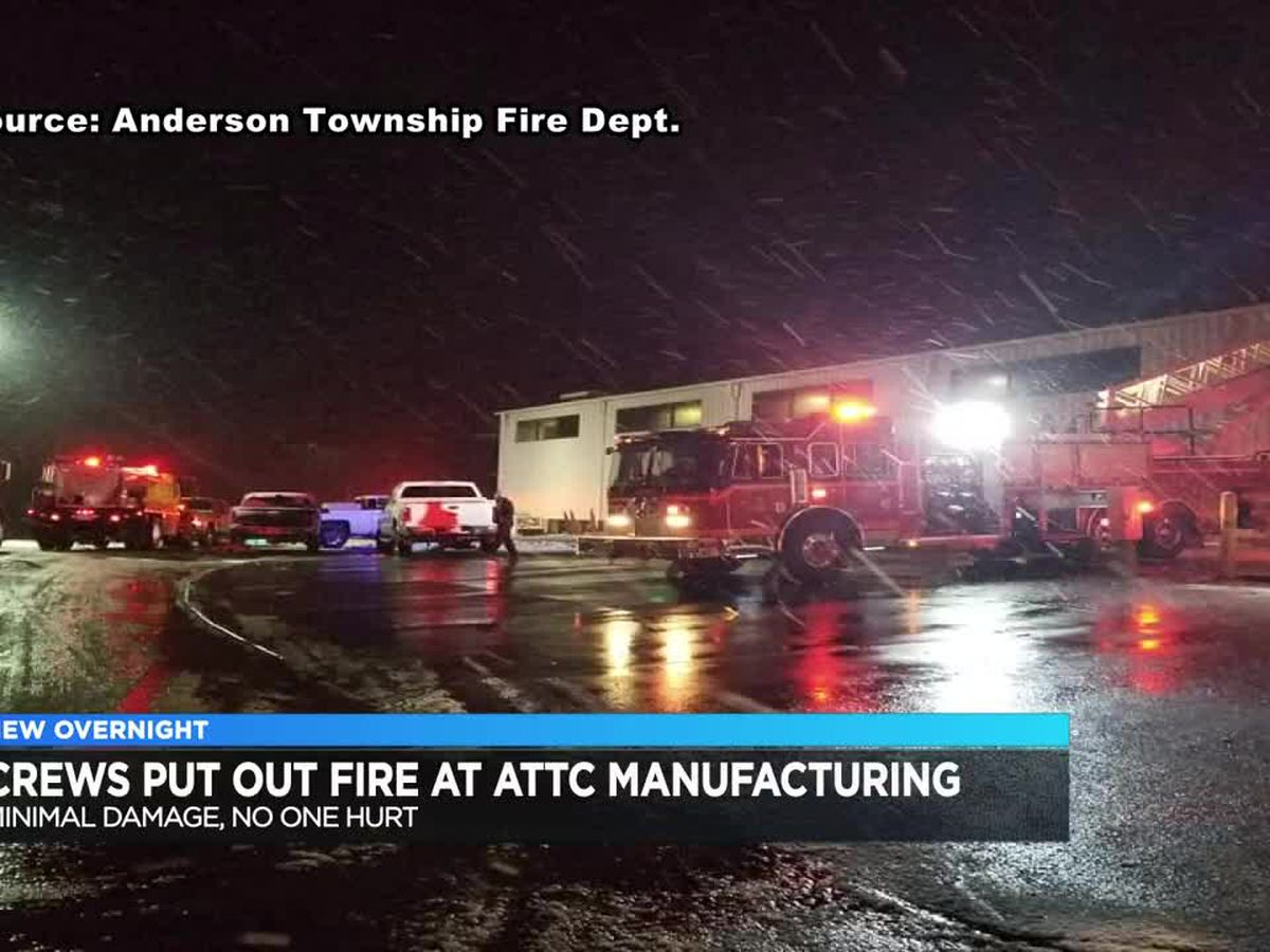 Crews put out fire at ATTC Manufacturing in Perry Co.