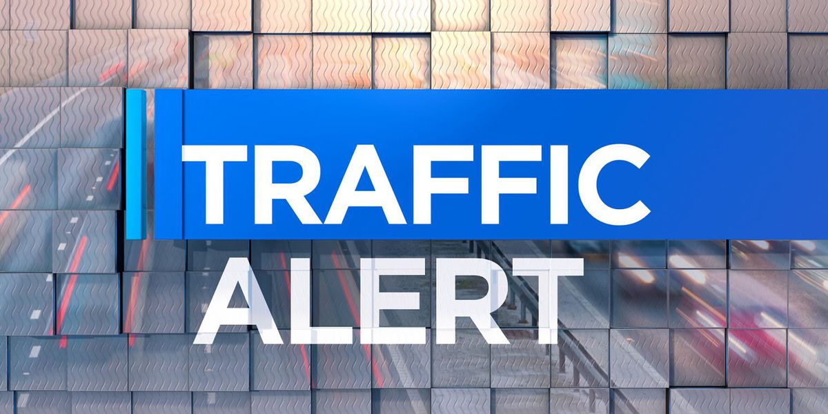 Road closed after semi overturns on Hwy-136