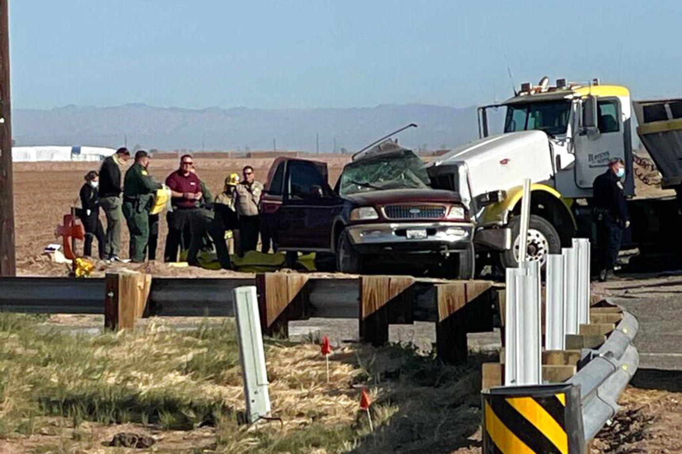 Guatemala woman, 23, is among 13 killed in California crash