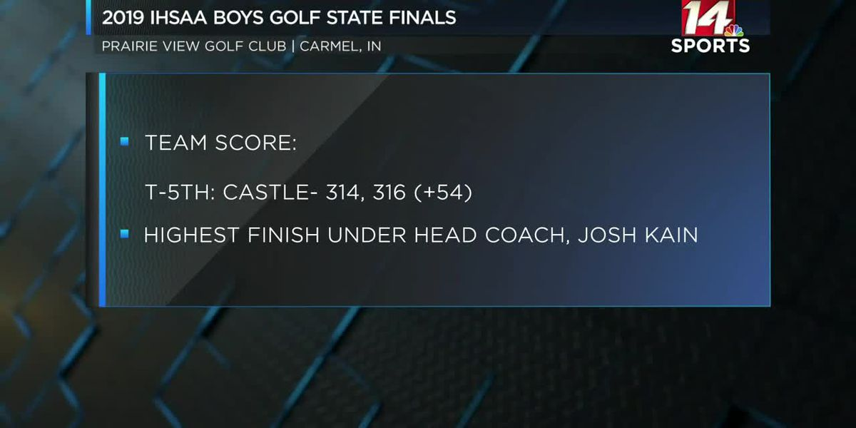 Castle, Memorial, North finish strong in IHSAA golf State Championship