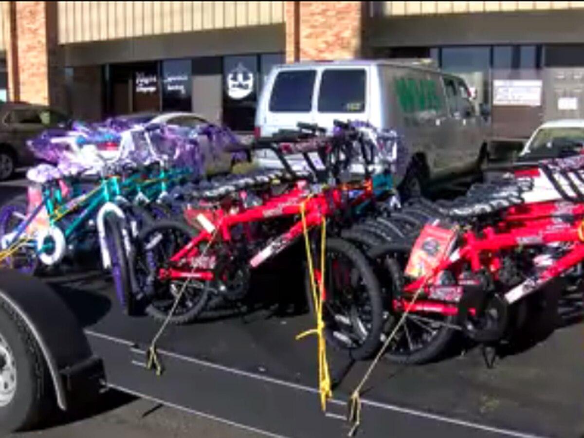 American Legion donates bikes to Salvation Army