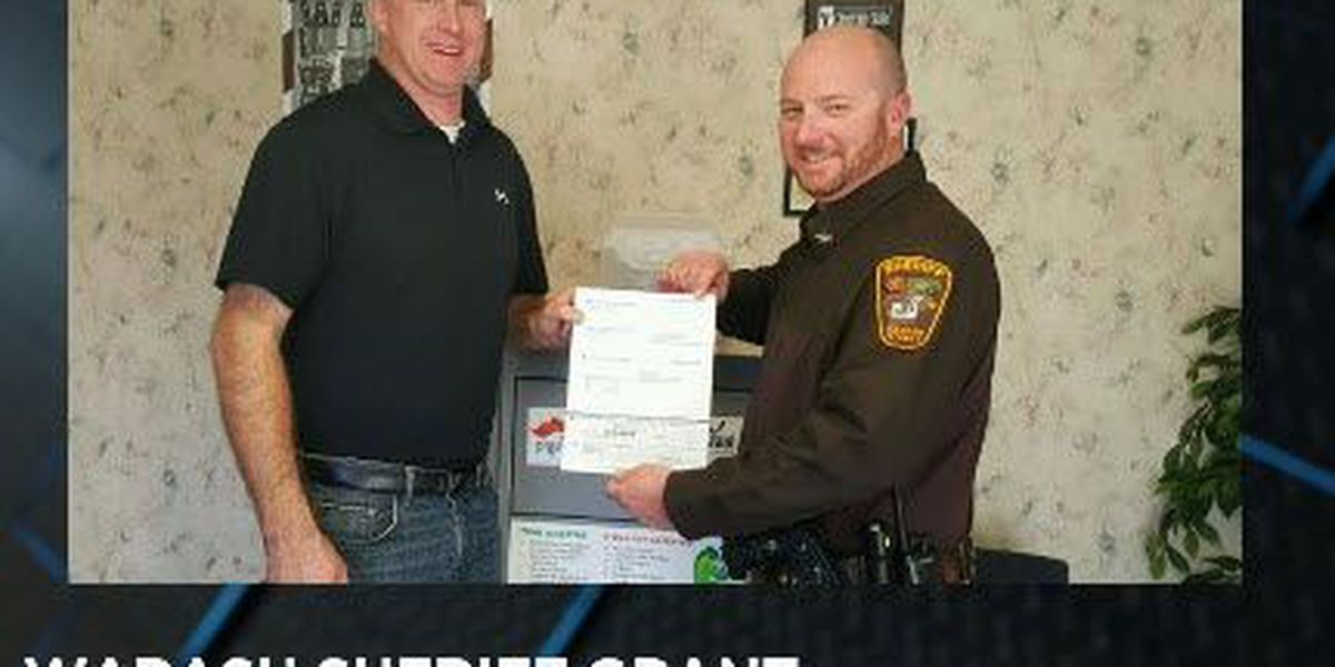 Wabash Co. Sheriff's Office receives grant for AEDs