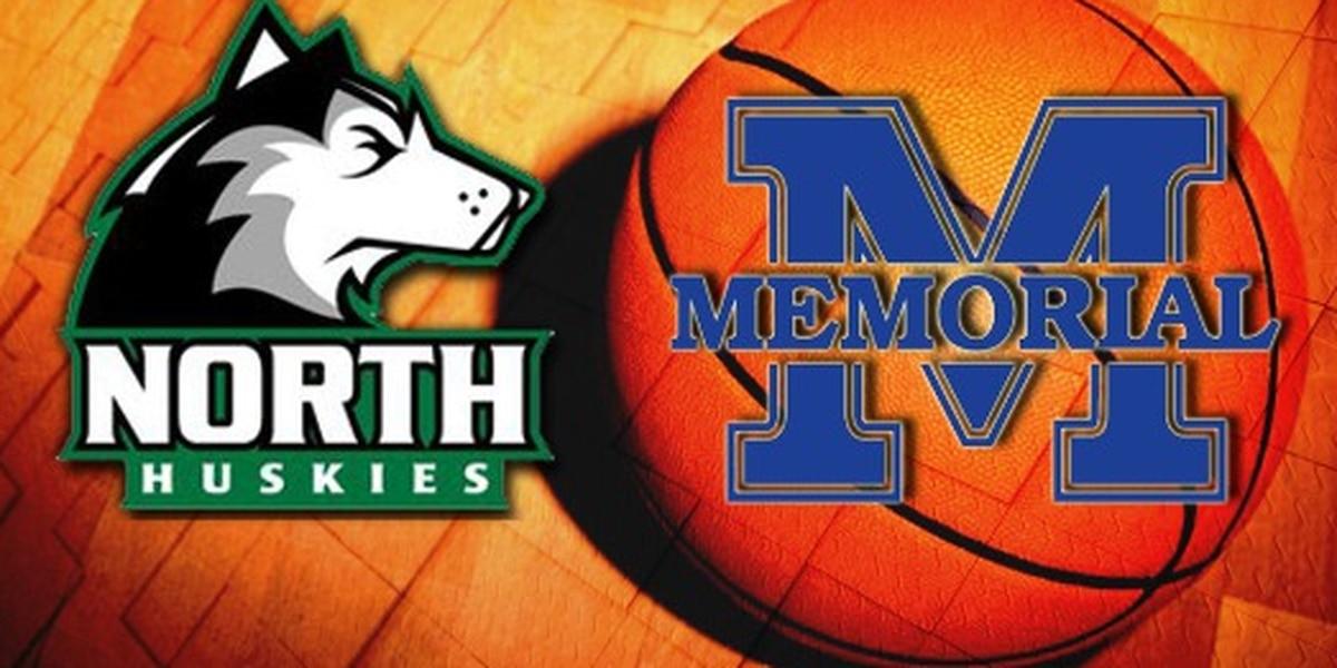 North vs Memorial boys basketball highlights