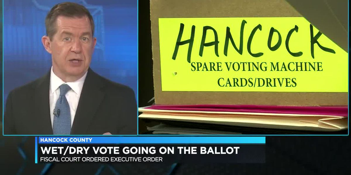 Wet-dry vote to be on Nov. ballot in Hancock Co.