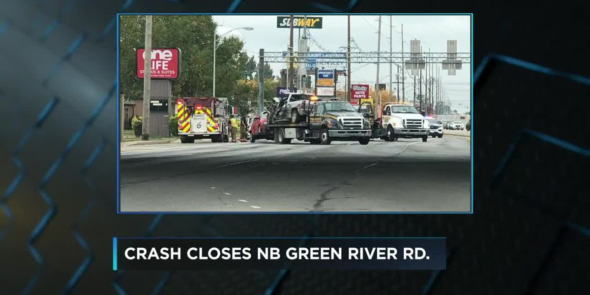 Dispatch: Northbound lanes of Green River Road shut down due to crash