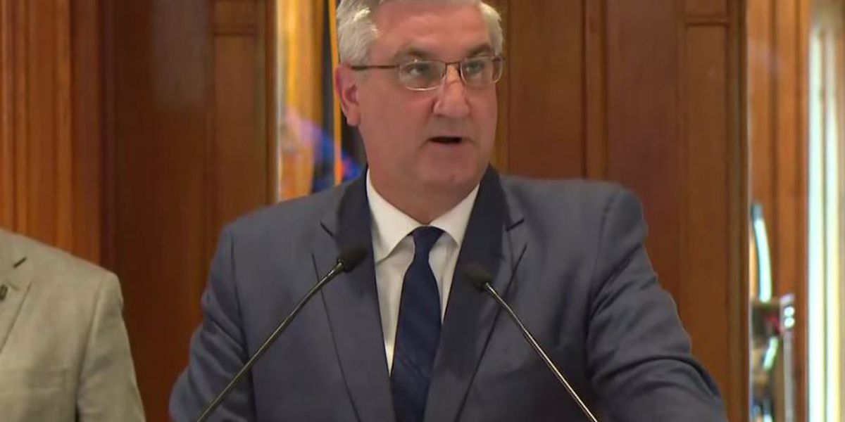 Gov. Holcomb announces primary has been moved to June 2
