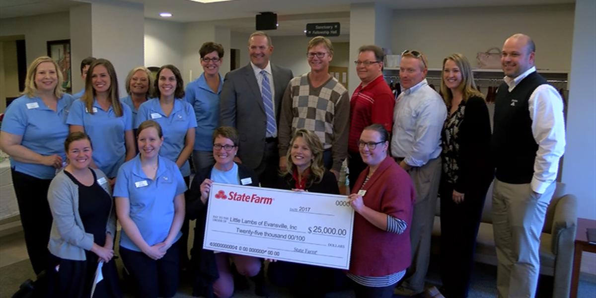 Little Lambs of Evansville receives grant