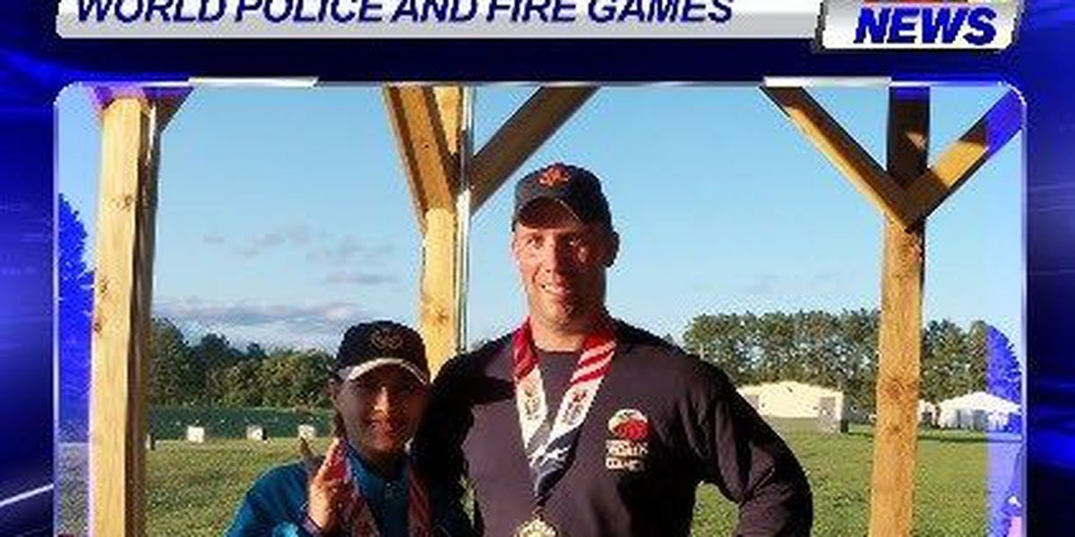 Evansville firefighter earns silver medal at World Police and Fire Games