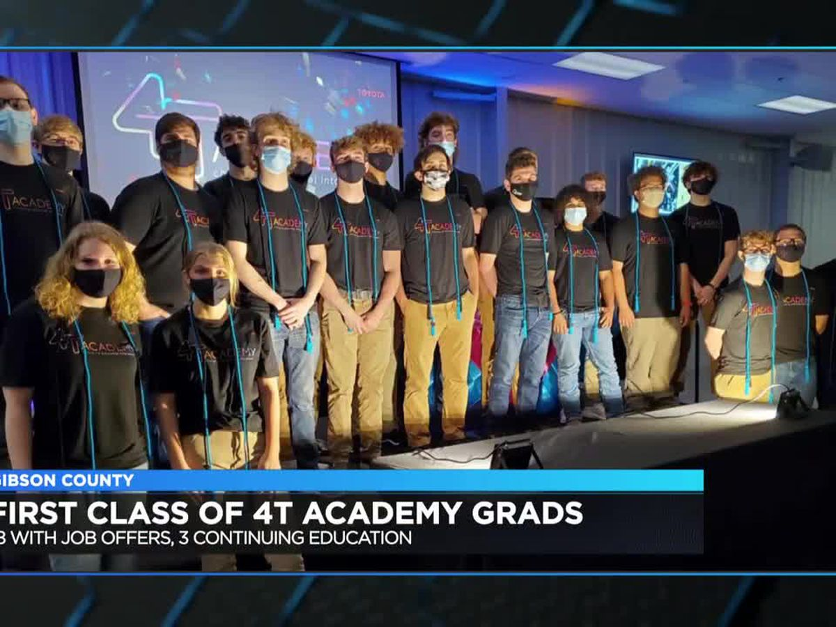 21 students graduate from Toyota's 4T Academy