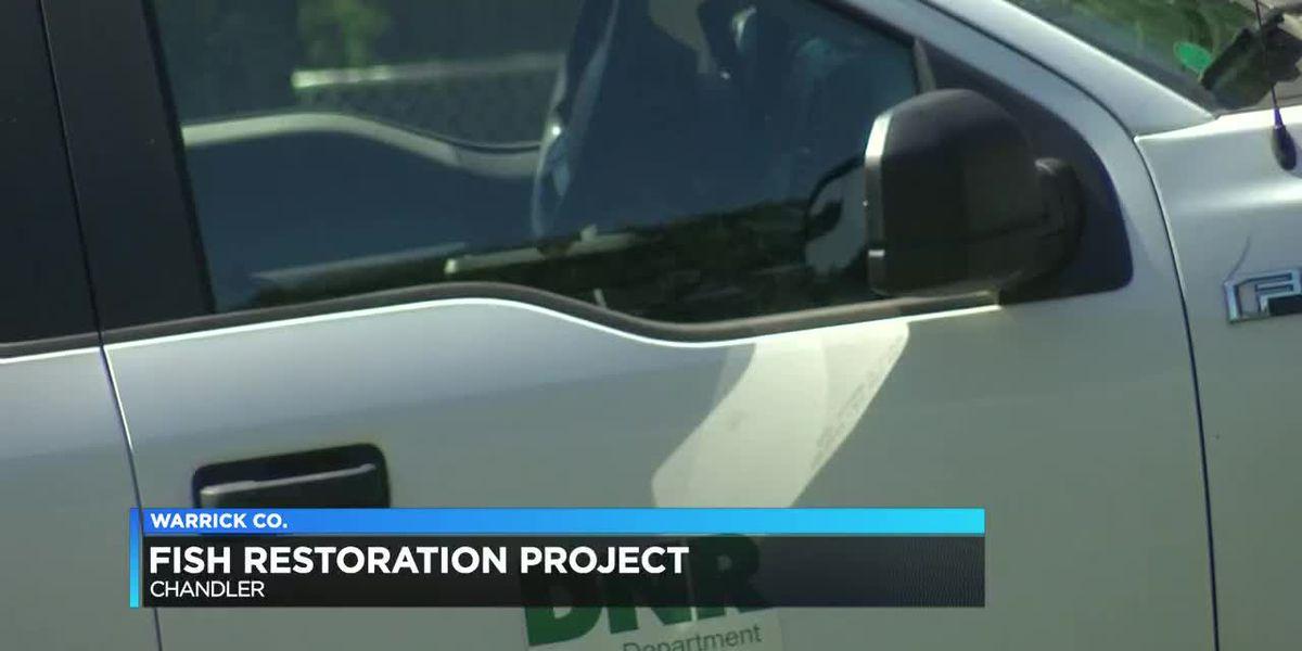 DNR starts fish renovation at Chandler Park Lake
