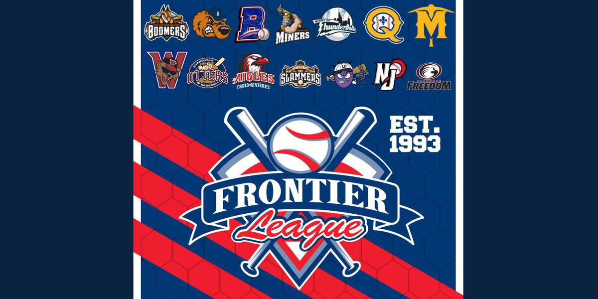 Frontier League Baseball adjusts 2021 schedule