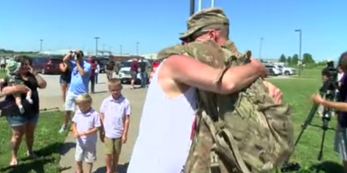 KY National Guard Battalion returns home to Owensboro after months-long deployment