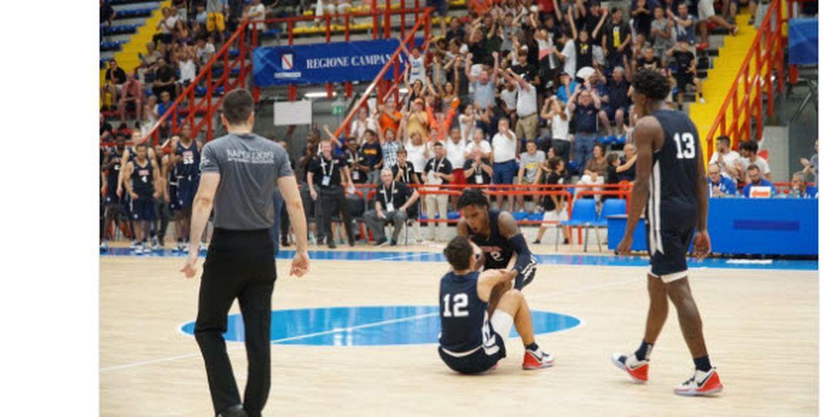 Former Castle Knight Hemenway helps team USA defeat Finland