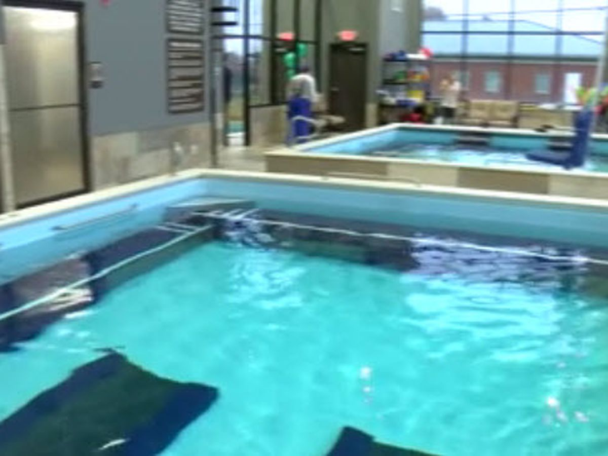 First-hand look at new Rehab for Life & Canine Aquatic Center