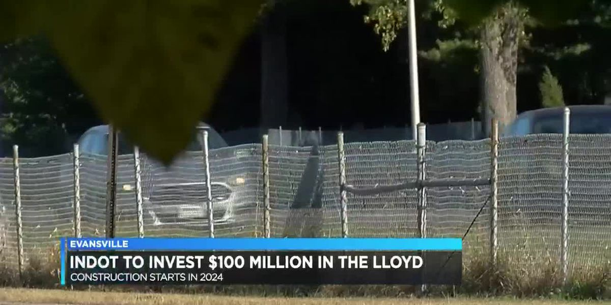 INDOT invests $100 million for Lloyd Expressway improvements