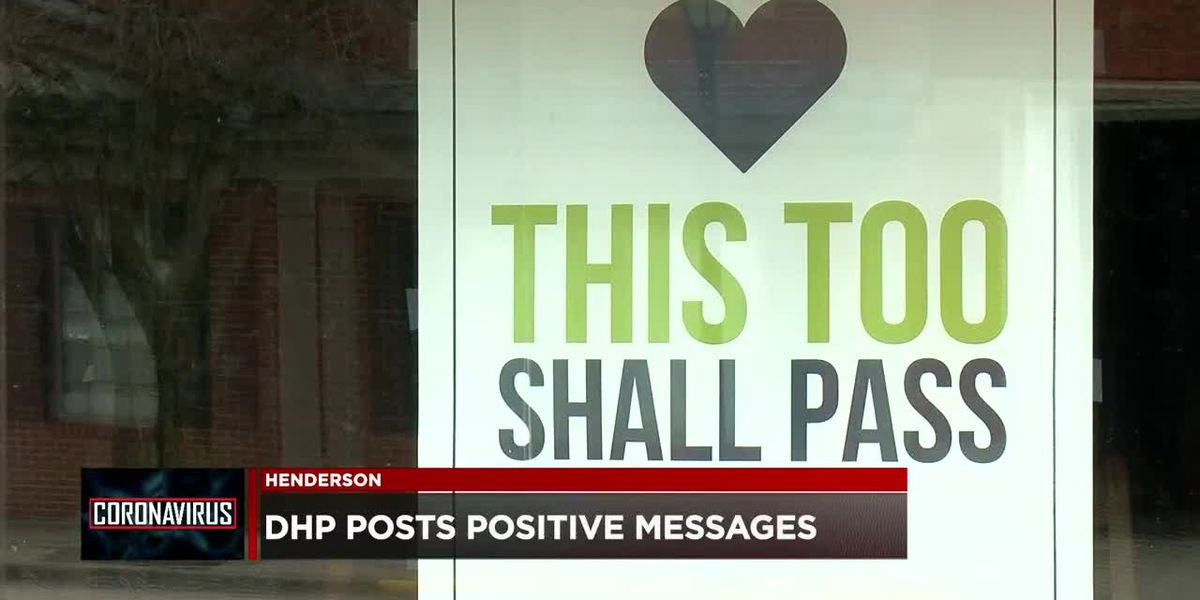 Henderson businesses spreading positive messages amid COVID-19 pandemic