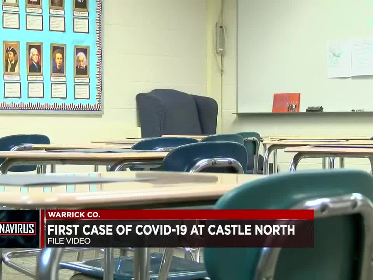 Castle North Middle School reports first COVID-19 case