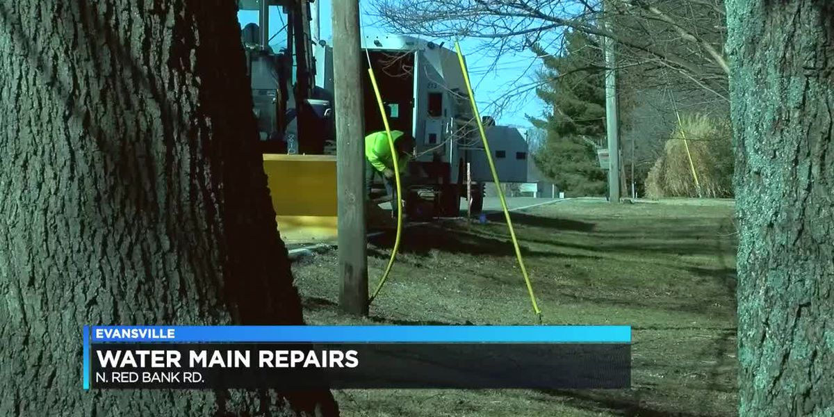 N. Red Bank Rd. is back open after contractor hits water main