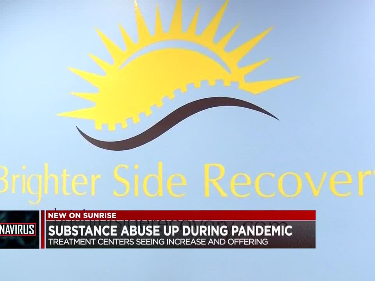 Treatment centers seeing increase in substance abuse during COVID-19 pandemic