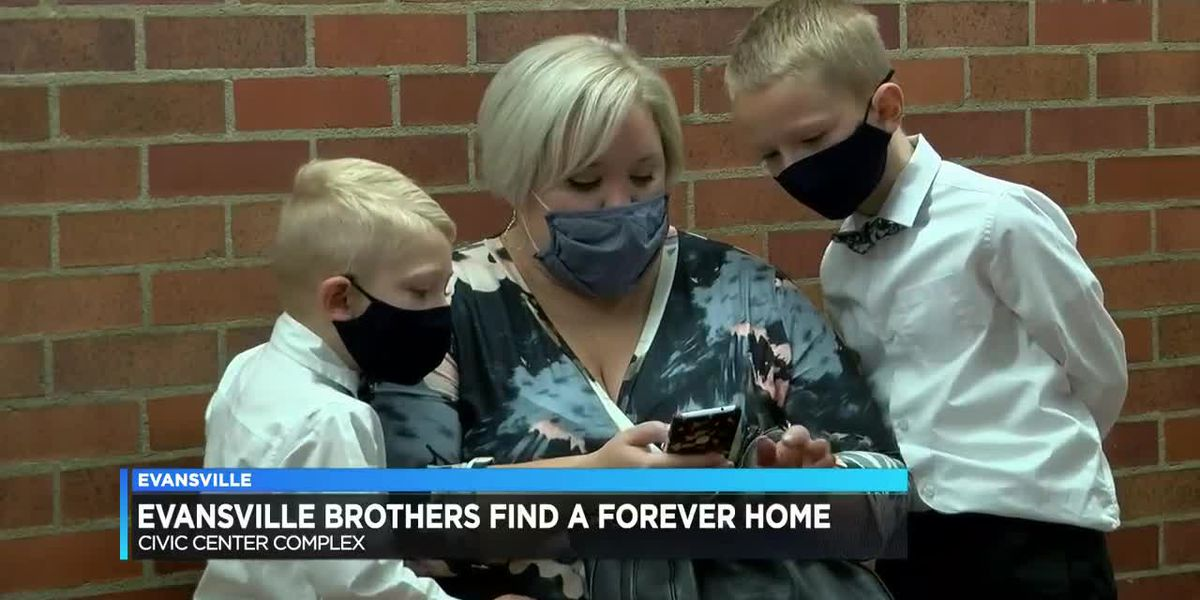 Evansville brothers find a forever home