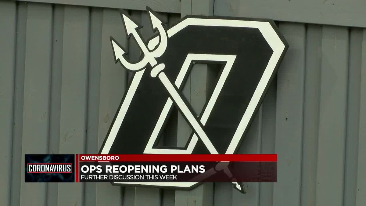 Owensboro schools to discuss reopening plans Thursday