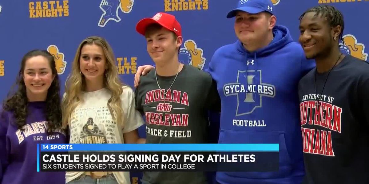 Castle holds Signing Day for senior athletes