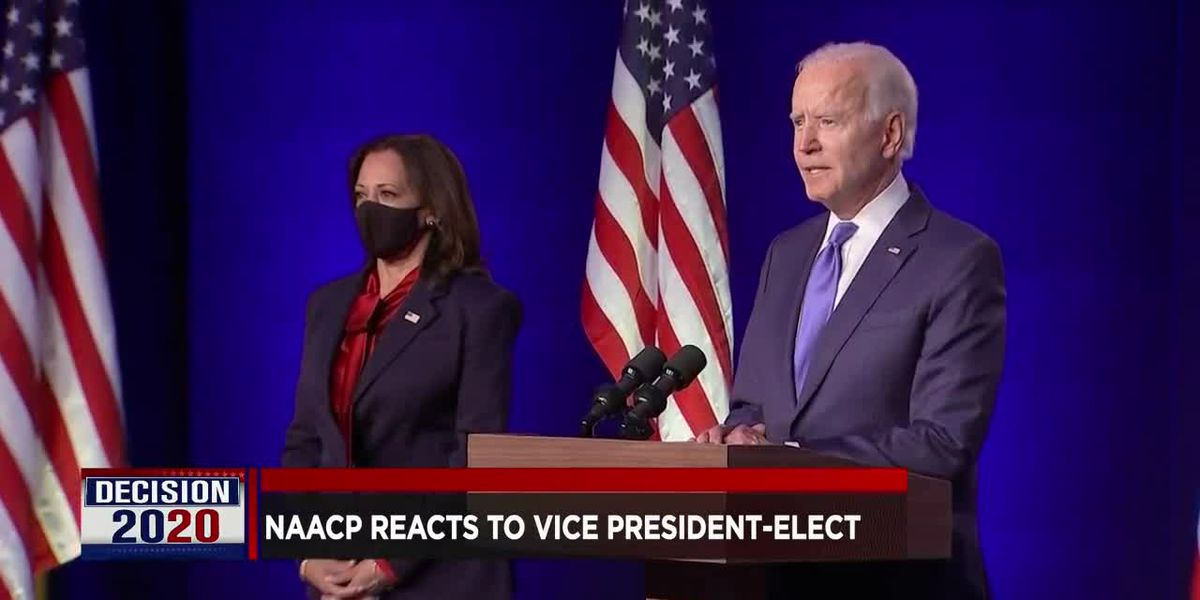Evansville NAACP responds to Kamala Harris's vice-presidential election victory
